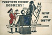 poster - Twentieth Century Robbery! Taxes, pay up and shut up