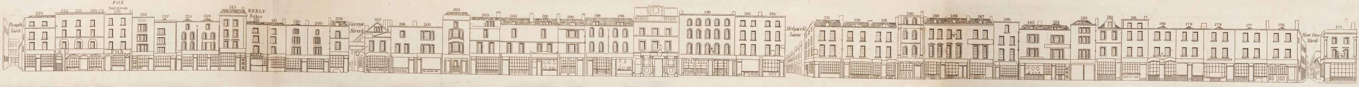 map - Tallis's London street views : No. 59. Shoreditch, division 2 (west)