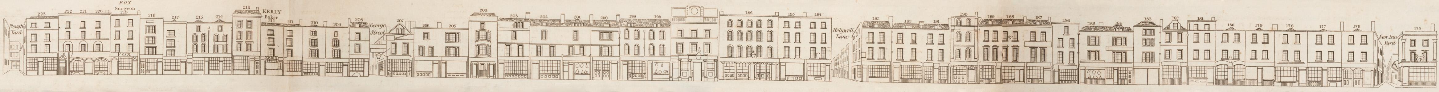 map - Tallis's London street views : No. 59. Shoreditch, division 2 (west)